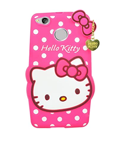 a27ccc812 Booz 3D Designer Cute Soft Kitty Back Cover for Mi: Amazon.in: Electronics
