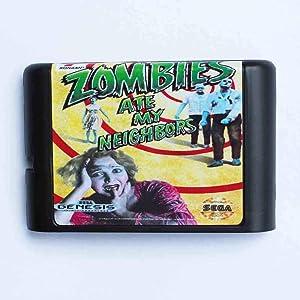 ROMGame Zombie Ate My Neighbors 16 Bit Md Game Card For Sega Mega Drive For Genesis