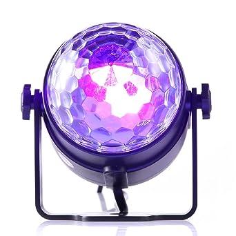 Amazoncom Gledto Disco Party Lights DJ Blacklight LED Mini - Strobe lights for bedroom