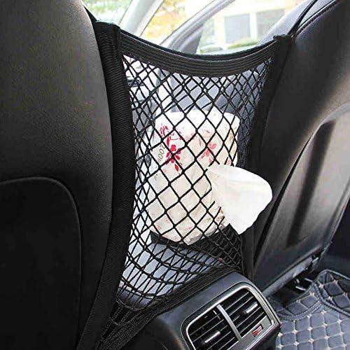 universel Si/ège auto Filet Organiseur Disturb Bouchon /à partir denfants et les animaux avec crochets Voiture Chien Barri/ère de voiture en maille filet Organiseur