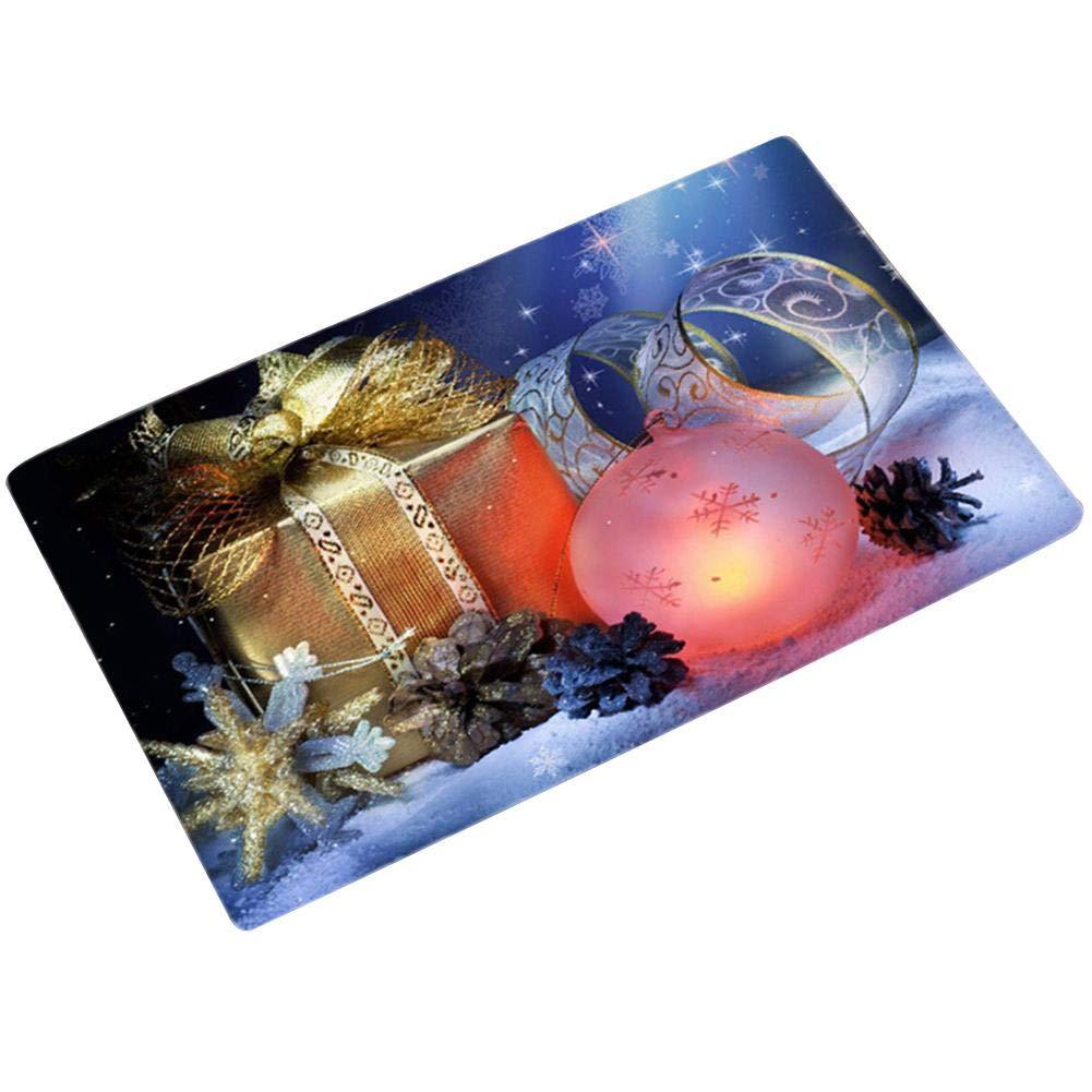 Eruditter Decorazione Natalizia, Regali per Capodanno, Babbo Natale, Pupazzo di Neve, Calzini, Regali Stampati. 4