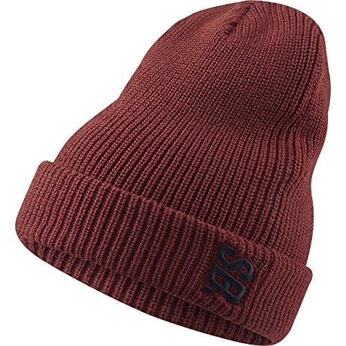 Nike SB Surplus Beanie (Dark Cayenne/Black) (Beanie Nike Wool)