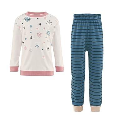 db986ae4e1 Living Crafts Living Crafts Mädchen Schlafanzug Bio-Baumwolle Schlafanzüge:  Amazon.de: Bekleidung