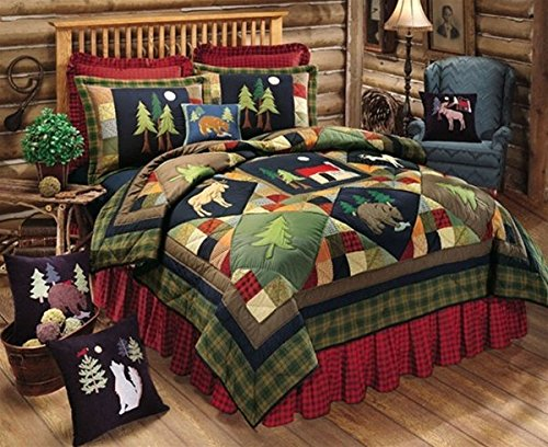 C&F Home Timberline Queen 4PC Quilt Set