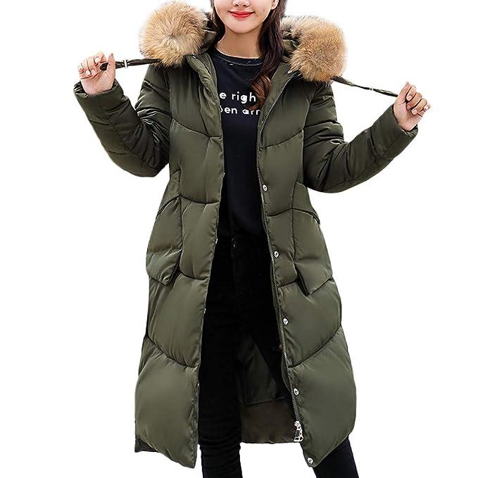 0724a7d28bd Womens Coats Plus Size Liraly Women Winter Warm Faux Fur Hooded ...