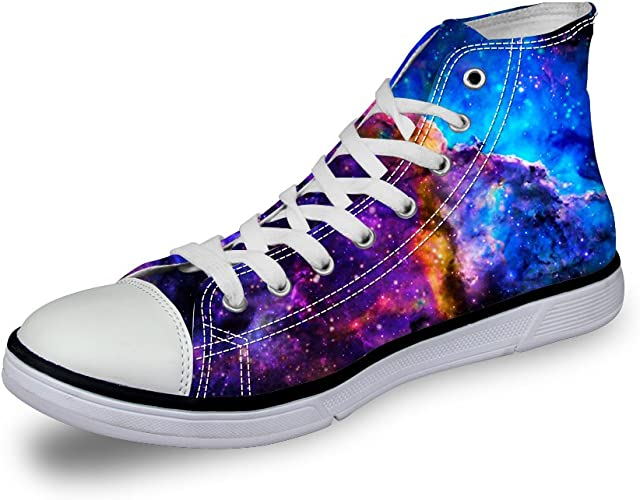 Frestree 3D Print Sneakers for Women Unique Gifts for Women and Girls
