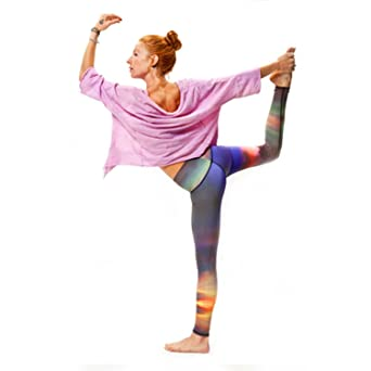 Teeki Nubes Yoga Pantalones Caliente ecológica ...