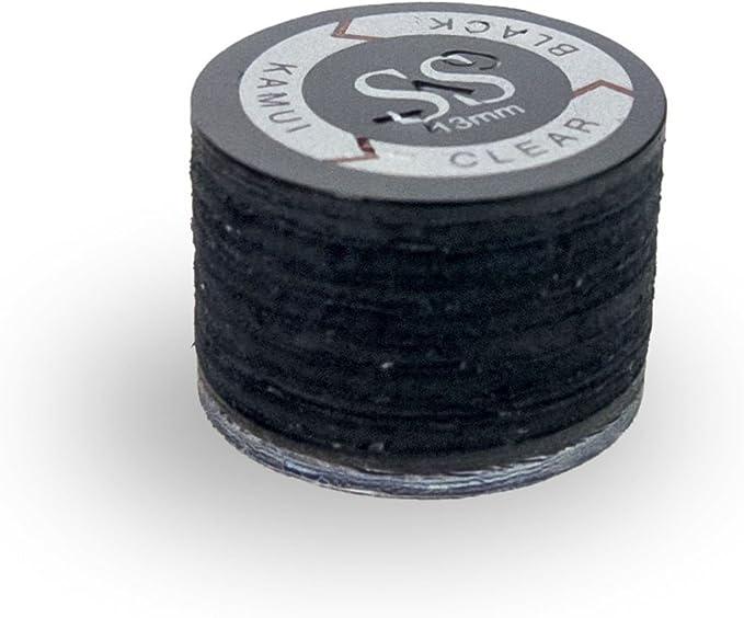Cuero Kamui clear Black, 13 mm, muy suave (SS): Amazon.es ...
