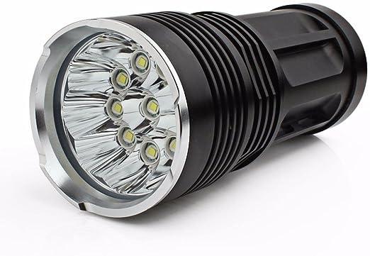 Outdoor 10x XM-L T6 LED Handlampe Taschenlampe Flashlight Fackel Lampe Jagdlampe