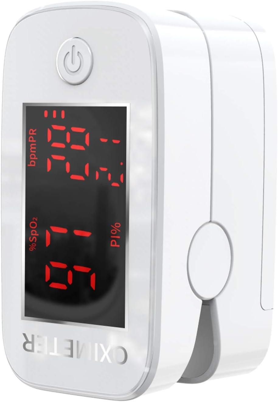 Oxímetro, pulsioxímetro de dedo, oximetro dedo, pulsioximetro de dedo profesional, saturador oxigeno profesional, medidor saturacion oxigeno con pantalla LED, con cordón