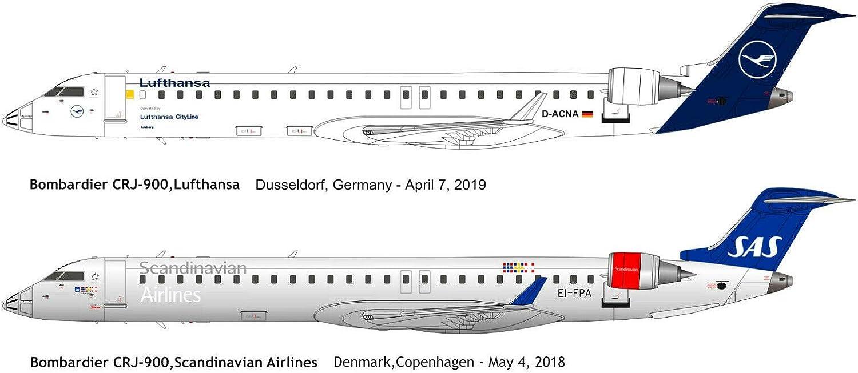 Big plan kits bpk14407 bombardier crj-700 Lufthansa Regional en 1:144