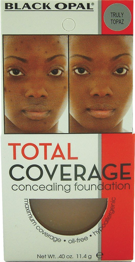 Black Opal Total Coverage Concealing Foundation - Truly Topaz