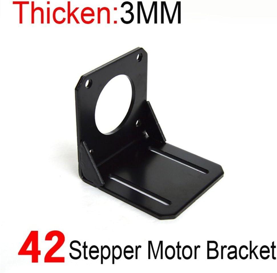 Aleaci/ón de acero soporte de montaje para soporte de montaje para motor paso a paso NEMA 17/con M3/tornillos 42/mm con tornillos w//M3/tornillos 2/unidades