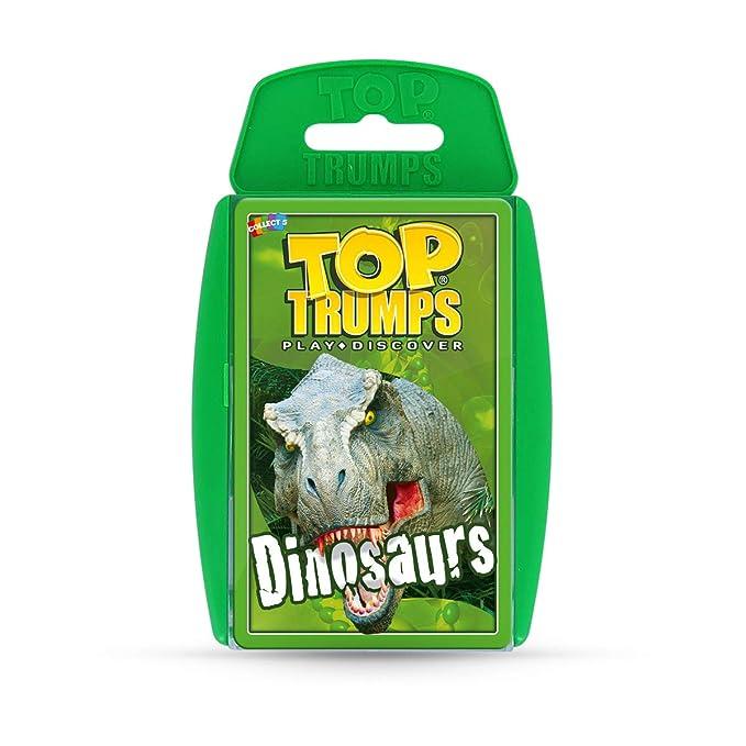 Amazon.com: Dinosaurios parte superior Trumps juego de ...