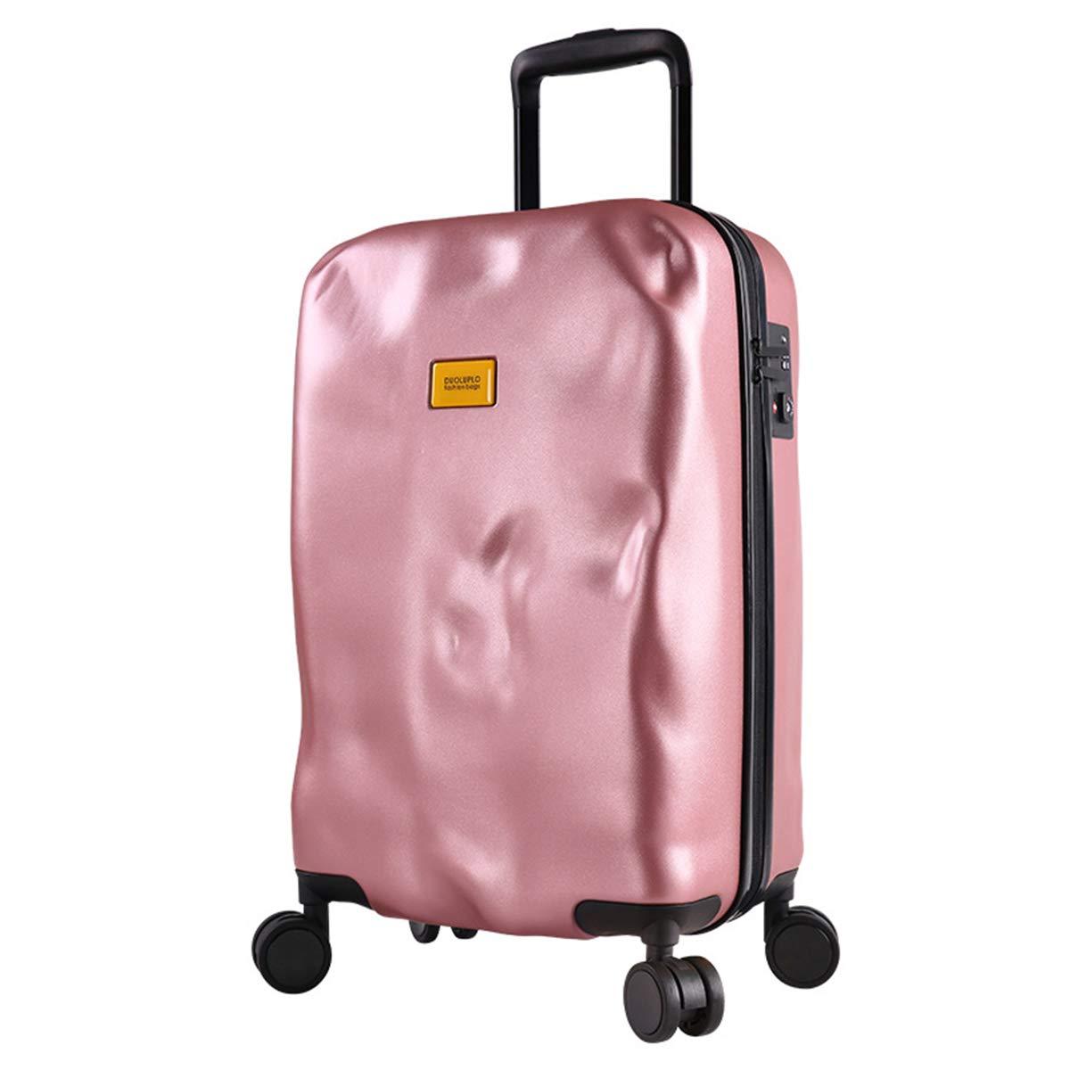 スーツケース、TSA ロックハンドキャビンケース20インチ24inch と28インチ利用可能な荷物ライトウェイトスピナー,rose,28inches B07Q27N725 rose 28inches