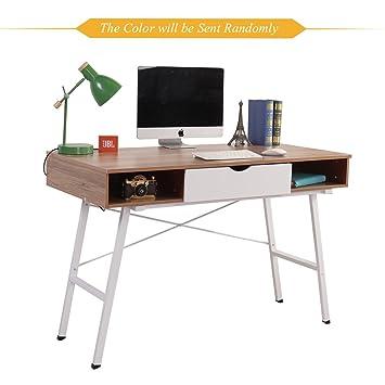 Soges 120cm Escritorio Superior de Ordenador de Madera Mesa para Casa, Oficina Escritorio de Estudio: Amazon.es: Oficina y papelería