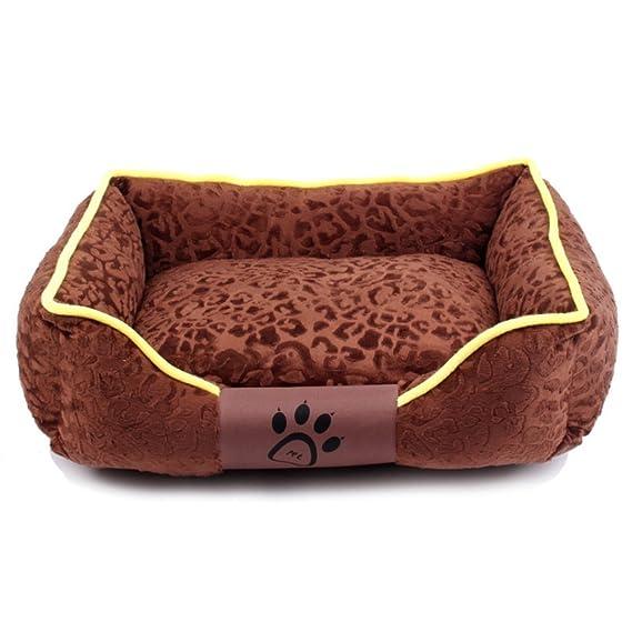 SL&ZX Nido para Mascotas,Perrera Lavable desprendible Oto?o Perro Perdiguero de Oro Invierno Colchón Perros Peque?o Perro Cathouse Mascotas Perro ...