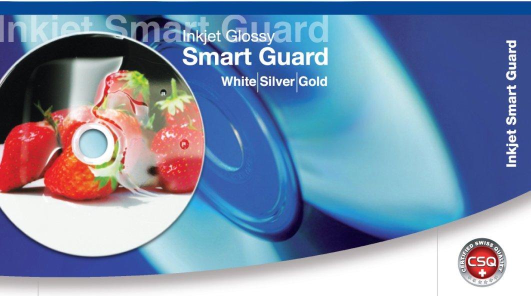 FalconMedia SmartGuard White Inkjet DVD-R - 16x, 4.7GB, Hub-Printable, Water Resistant - 50 Pack