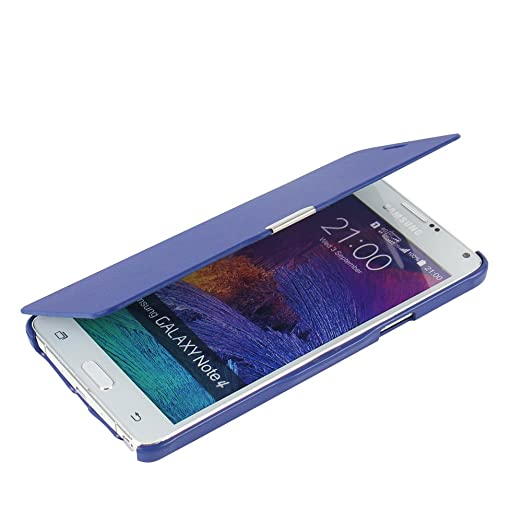 68 opinioni per Cover Samsung Galaxy Note 4, MTRONX Custodia Case Ultra Folio Flip Stile Pelle
