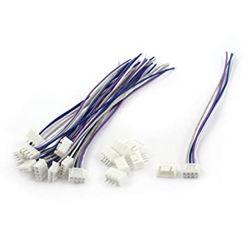 Cable de cargador de equilibrio - SODIAL(R)10 piezas de cargador de equilibrio de bateria de Lipo 11.1V 3S JST-XH cable de conector