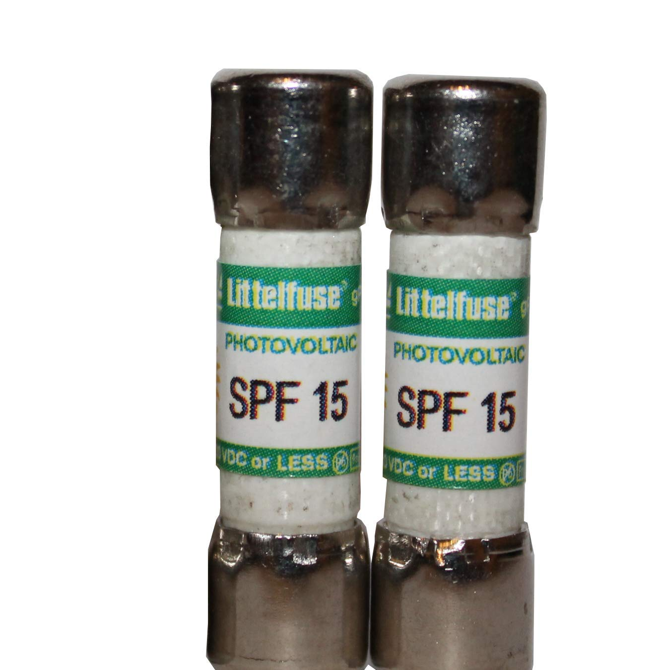 SPF-015 Solar//Photovoltic Protection Fuse 15 Amp 1,000 Volts DC 2 Pack