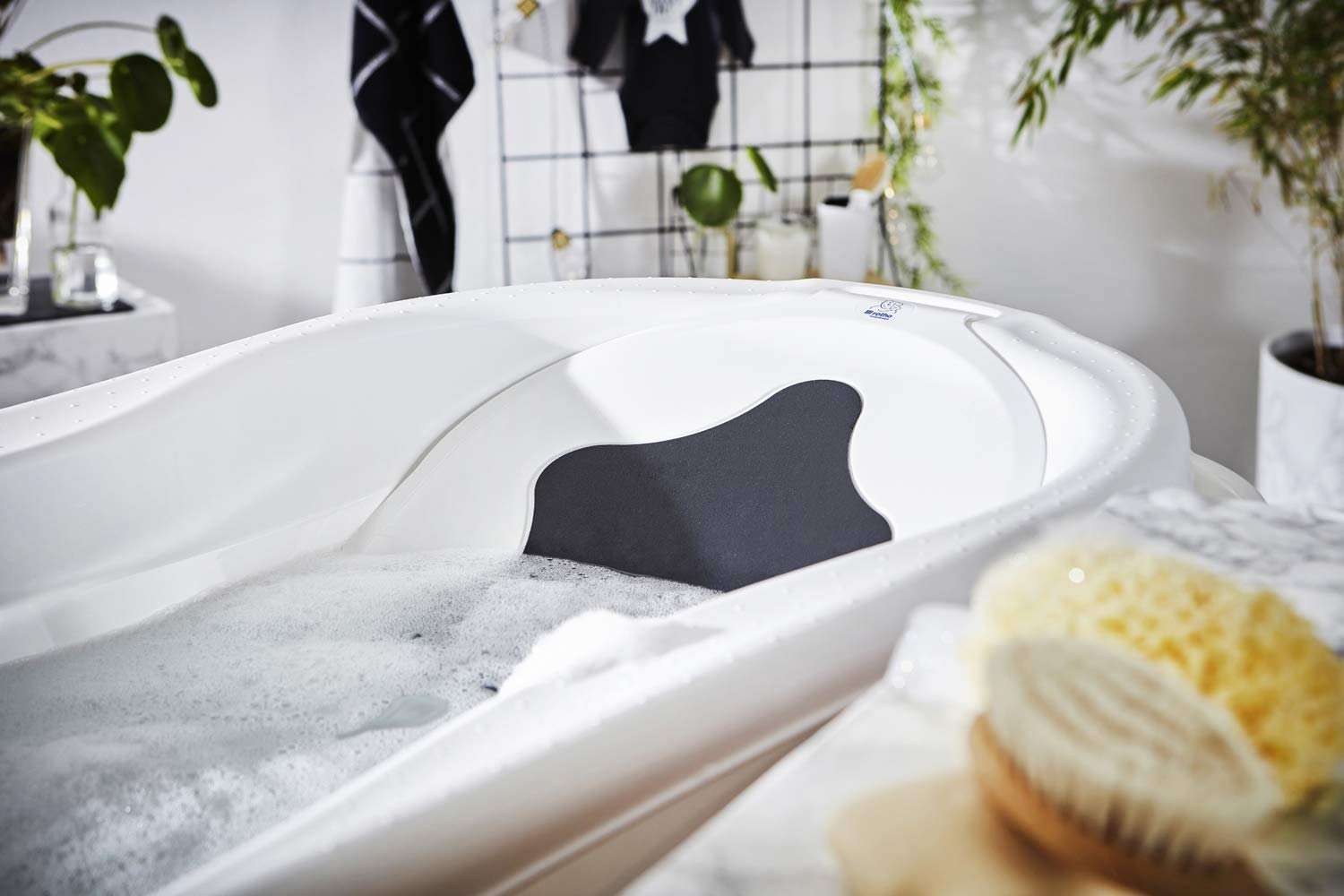 Rotho Babydesign Bath Tub Insert With Anti-Slip Mat TOP//TOP Xtra 205030001 White 0-6 Months