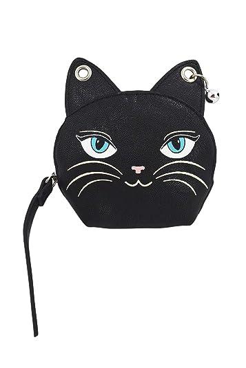 Amazon.com: Lost Queen Gothic Emo Punk Meow Feline ...