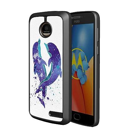 Amazon.com: Beemars - Carcasa para móvil MOTO E4, diseño de ...