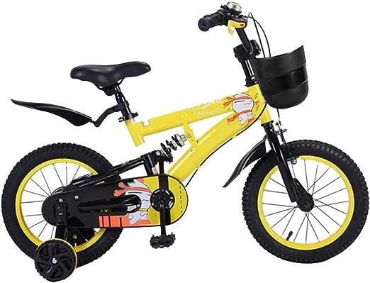 YUMEIGE Bicicletas Bicicletas para niños, con una bicicleta para niños de Training A Wheel 16 Ciclismo
