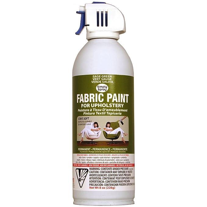 Amazon.com: Simply Spray Upholstery Fabric Spray Paint 8 Oz ...