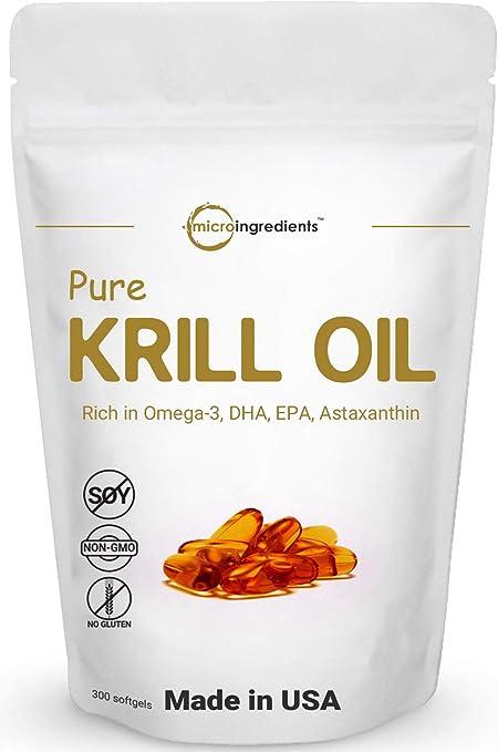 Amazon.com: Antarctic Krill Oil Supplement, 1000mg Per Serving ...