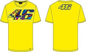 VR46 Camiseta Hombre Valentino Rossi 46 Helmet TG. M: Amazon.es: Coche y moto