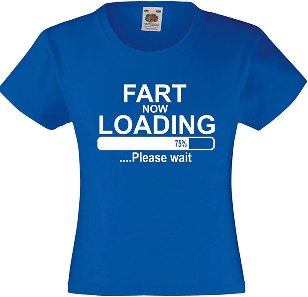StarlightClothing Starlite-Kids Unisex Funny Tshirts-Fart Loading T-Shirts-Funny Gifts