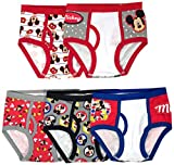 Disney Boys' 5-Pack Mickey Mouse Brief Underwear