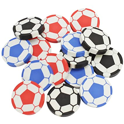 com-four® 15x Balón de fútbol, 4,5 cm, Mochila Escolar: Amazon.es ...