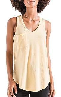 d709be1f100af Amazon.com: Z SUPPLY Clothing Women's The Pocket Racer V Neck Tank ...