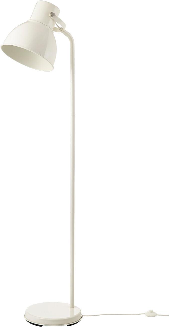 Ikea Hektar Stehlampe Weiss Amazon De Kuche Haushalt