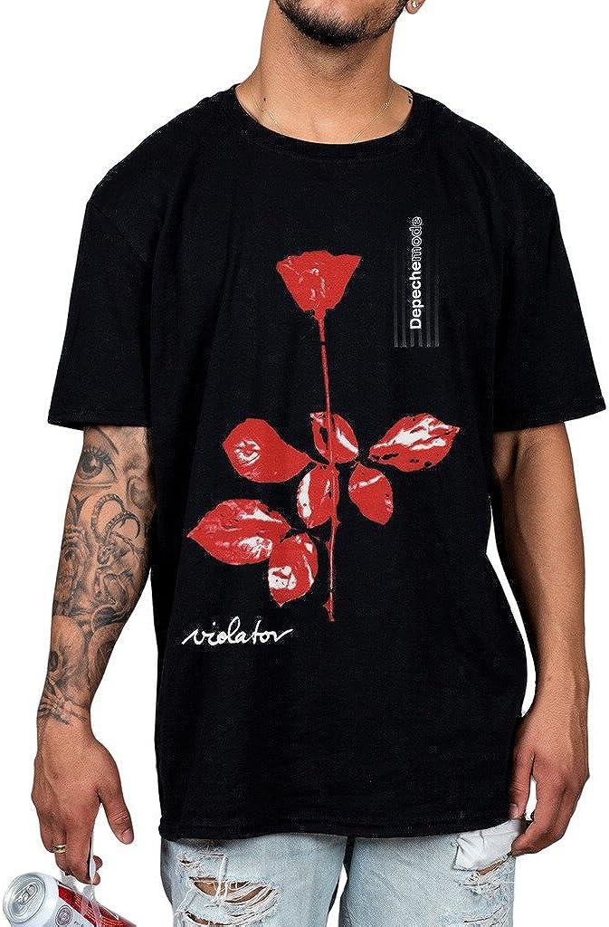Camiseta oficial Depeche Mode Violator Unisex Nueva Licencia Merch Negro Celeb