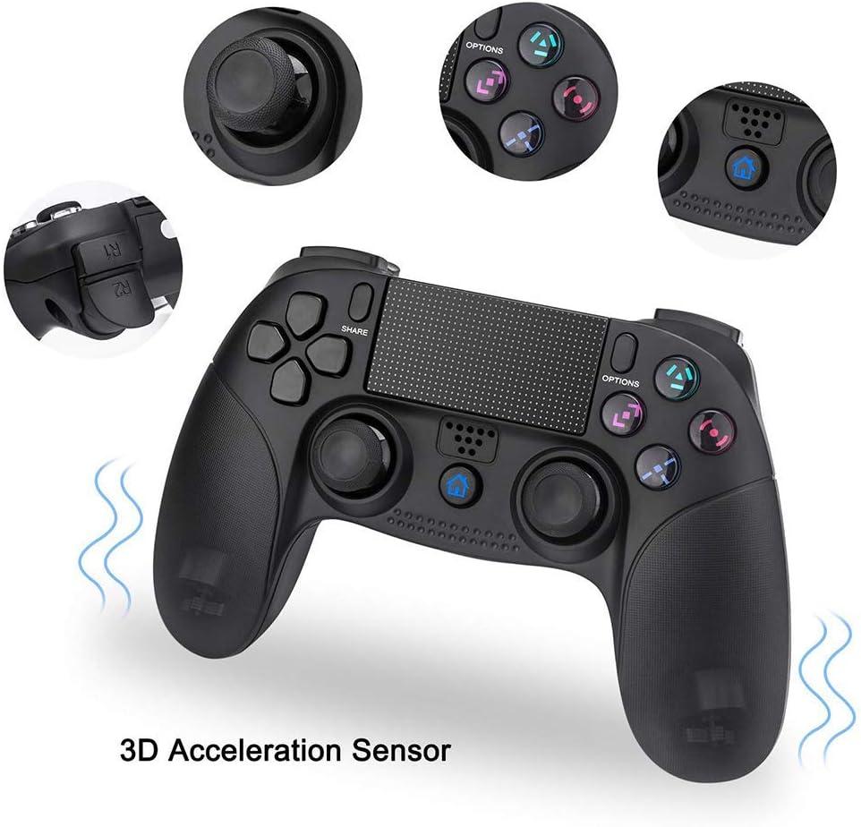 Controlador PS4, PowerLead Gamepad inalámbrico para Playstation 4 ...