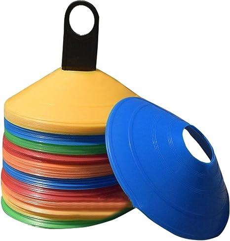 Zerich Conjunto de cono disco de 50 conos flexibles multicolor ...