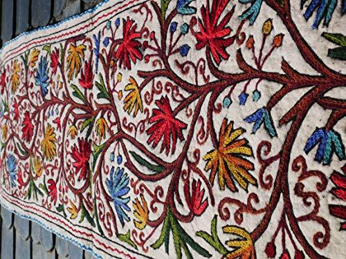 (Runner rug - wool floor runner | Kashmiri