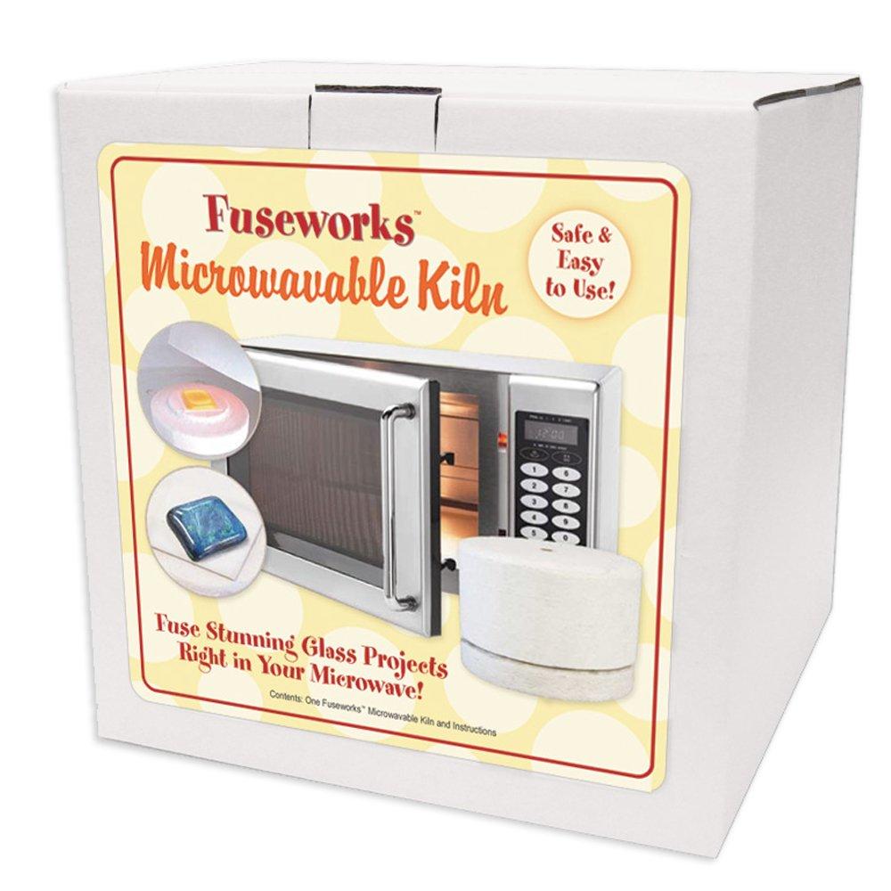 Amazon.com: Fuseworks FW849 Beginner\'s Microwave Kiln: Arts, Crafts ...