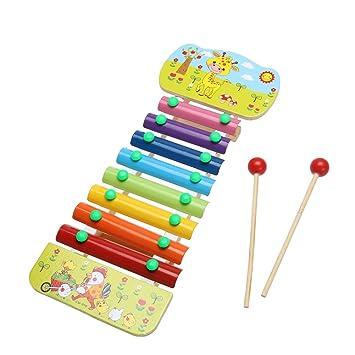 Chinatera Enfants En Bois 8 Notes Dessin Anime Glockenspiel