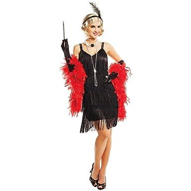 457b744afa4 Amazon.com  Hollywood Flapper Costume - Small - Dress Size 4-6  Clothing
