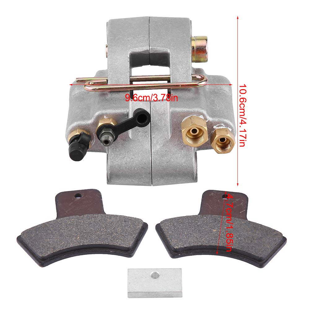 VEPEN Rear Brake Caliper Pads for Polaris Sportsman 500 1998-2002 1910553 1910441 1910366 1930818