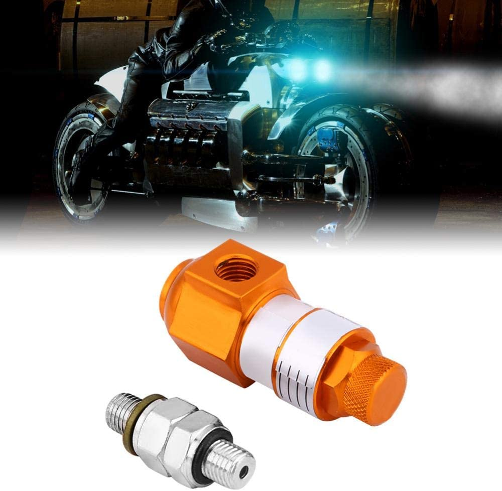 60mm-Silver Keenso Universal Motorcycle Anti-Lock Brake System Brake Caliper ABS Auxiliary System Motorcycle Dirt Pit Bicycle ATV Four-Wheel Drive Kart