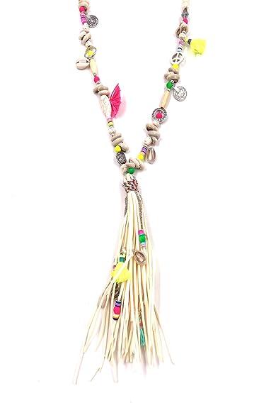 luxuriant dans la conception économiser jusqu'à 80% prix plus bas avec Bellissima bijoux- Bijoux Fantaisie- Sautoir Pompon Perle en ...