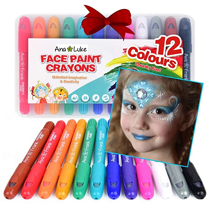 Body Spirited Tattoo Painting Stick Pen Pigment Halloween Party Fancy Beautiful Makeup Tools For Child Kids Rainbow Colored Face Body Paint A Wide Selection Of Colours And Designs Makeup