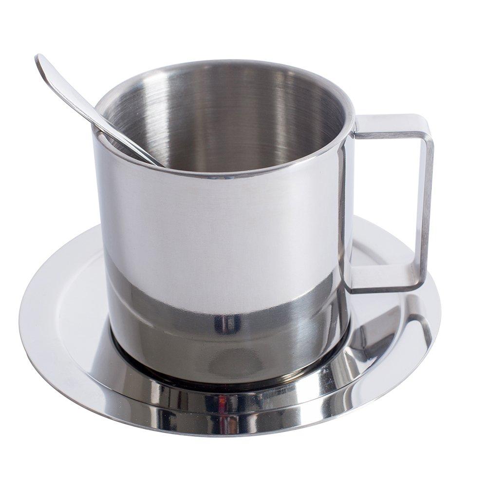 Stainless Steel Coffee Mug - Insulated Cups Double Wall Coffee Cups/Tea Cups 9.9 Ounce