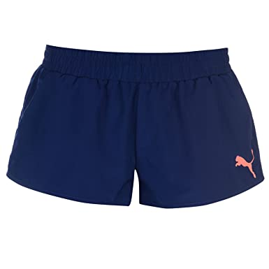 0afd55ca2cbe Puma Womens Shorts Blue Pink 8 (XS)  Amazon.co.uk  Clothing
